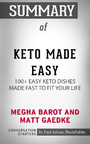 Summary of Keto Made Easy: 100+ Easy Keto Dishes Made Fast to Fit Your Life