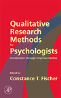 Qualitative Research Methods for Psychologists - Introduction through Empirical Studies