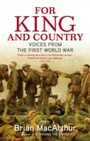 For King And Country - Voices from the First World War