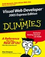 Visual Web Developer 2005 Express Edition For Dummies