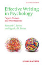 Effective Writing in Psychology - Papers, Posters,and Presentations