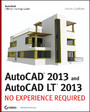 AutoCAD 2013 and AutoCAD LT 2013 - No Experience Required