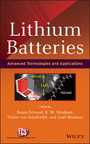 Lithium Batteries - Advanced Technologies and Applications
