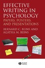 Effective Writing in Psychology - Papers, Posters, and Presentations