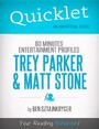 Quicklet on 60 Minutes Entertainment Profiles: Trey Parker and Matt Stone