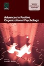 Advances in Positive Organizational Psychology