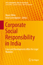 Corporate Social Responsibility in India - Cases and Developments After the Legal Mandate