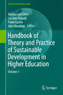 Handbook of Theory and Practice of Sustainable Development in Higher Education - Volume 1