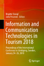 Information and Communication Technologies in Tourism 2018 - Proceedings of the International Conference in Jönköping, Sweden, January 24-26, 2018