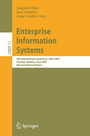 Enterprise Information Systems - 9th International Conference, ICEIS 2007, Funchal, Madeira, June 12-16, 2007, Revised Selected Papers