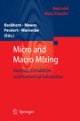 Micro and Macro Mixing - Analysis, Simulation and Numerical Calculation