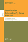 Scandinavian Information Systems Research - First Scandinavian Conference on Information Systems, SCIS 2010, Rebild, Denmark, August 20-22, 2010, Proceedings