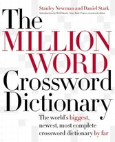 Million Word Crossword Dictionary