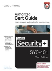 CompTIA Security+ SYO-401 Cert Guide, Deluxe Edition