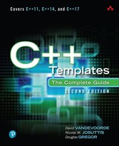 C++ Templates - The Complete Guide