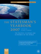 The Statesman's Yearbook 2007 - The Politics, Cultures and Economies of the World