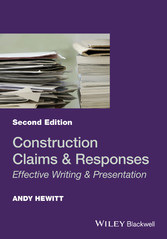 Construction Claims and Responses - Effective Writing and Presentation