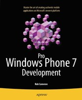 Pro Windows Phone 7 Development