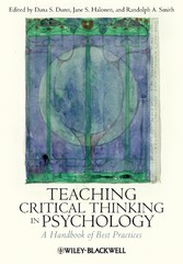 Teaching Critical Thinking in Psychology - A Handbook of Best Practices