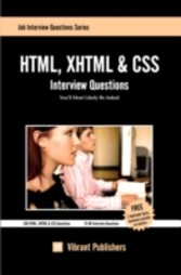 HTML, XHTML and CSS Interview Questions You'll Most Likely Be Asked