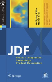 JDF - Process Integration, Technology, Product Description