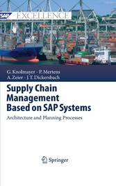 Supply Chain Management Based on SAP Systems - Architecture and Planning Processes