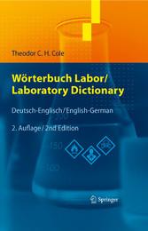 Wörterbuch Labor / Laboratory Dictionary - Deutsch/Englisch - English/German