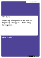 Regulatory Intelligence as the Basis for Regulatory Strategy and Global Drug Development
