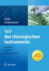 1x1 der chirurgischen Instrumente - Benennen, Erkennen, Instrumentieren