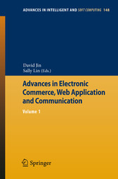 Advances in Electronic Commerce, Web Application and Communication - Volume 1
