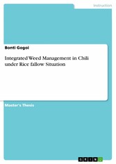 Integrated Weed Management in Chili under Rice fallow Situation