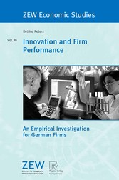 Innovation and Firm Performance - An Empirical Investigation for German Firms