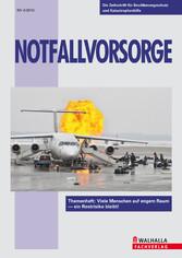 Zeitschrift Notfallvorsorge 4/2010