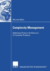 Complexity Management - Optimizing Product Architecture of Industrial Products